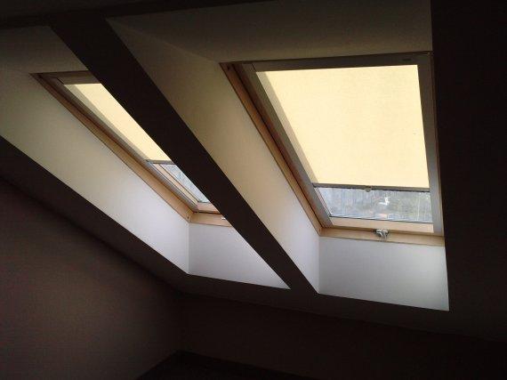 Rolety materiałowe dachowe(okno fakro)